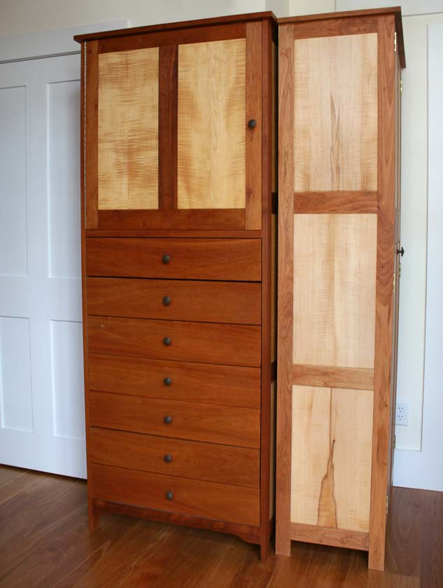 cherry-tall-cabinets