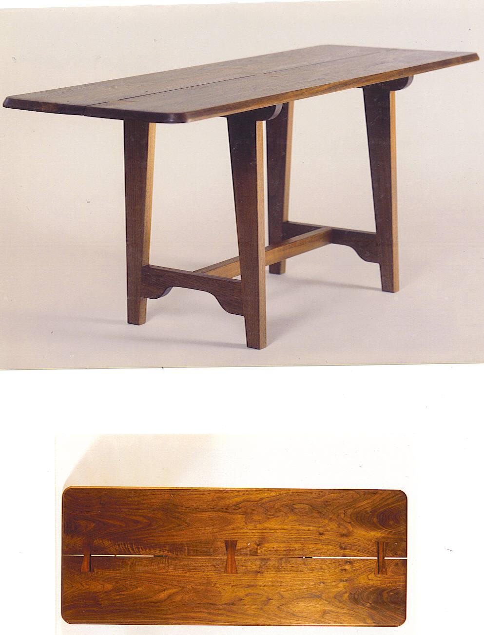 Walnut Low Tea Table