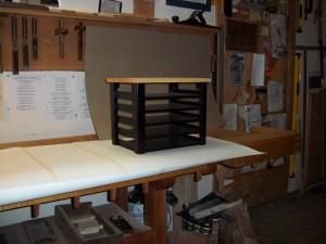 Courtney's desk organizer
