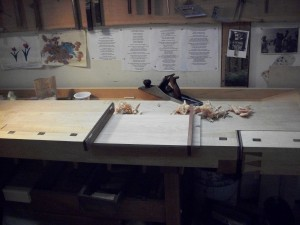 Planing with winding sticks