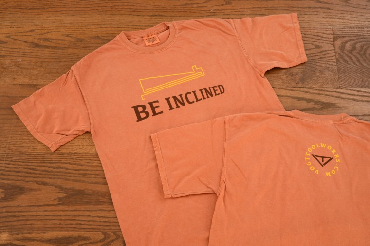 R S BE INCLINED T-SHIRTS