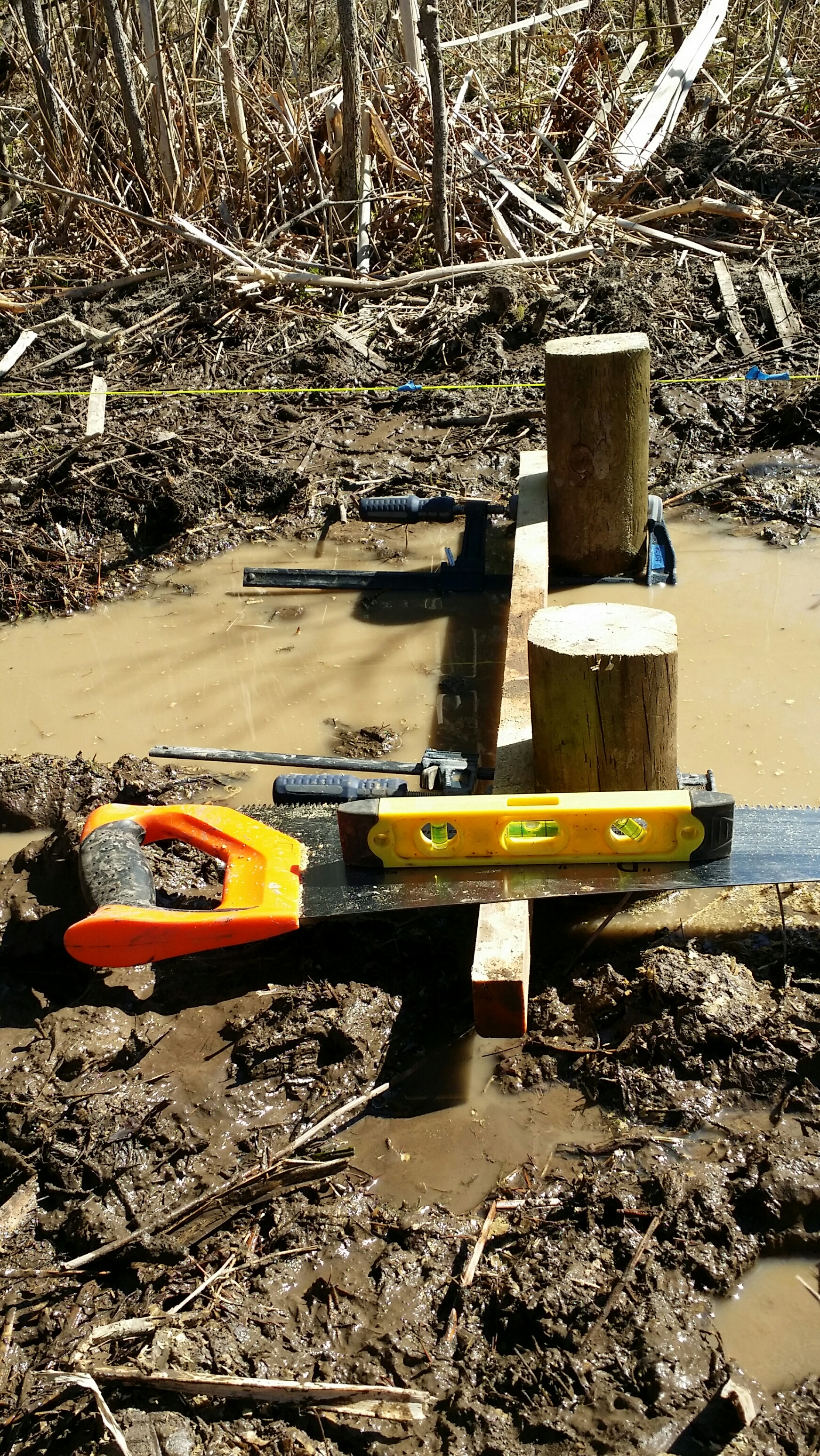 Sawing posts 2